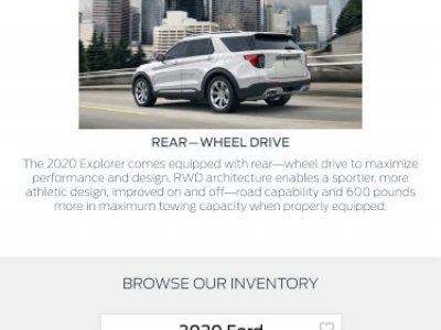 Obrazek 2020 Ford Explorer mobile